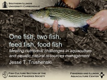 One fish, two fish, feed fish, food fish - National Coalition for Food ...