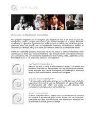 INPULSE Leadership Program.pdf - The Study Stream