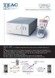 Preliminary Medical Image Recorder and DICOM Gateway ... - Comex