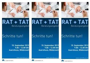 RAT + TAT RAT + TAT RAT + TAT - Auerehuus