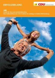 Broschüre als pdf-Datei - Lasotta, Dr. Bernhard (MdL)