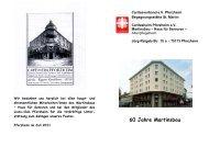 Entwurf – 60 Jahre Martinsbau - Caritas Pforzheim