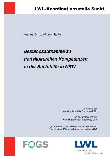 Bestandsaufnahme zu transkulturellen Kompetenzen in ... - transVer
