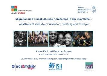 Migration und Transkulturelle Kompetenz in der Suchthilfe ... - transVer