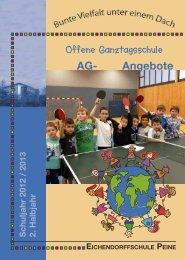 AG- Angebote - Eichendorffschule