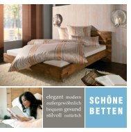 PROSPEKT: Schöne Betten - Bettenhaus Biermann