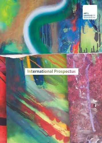International Prospectus 2013-14.pdf - Arts University Bournemouth