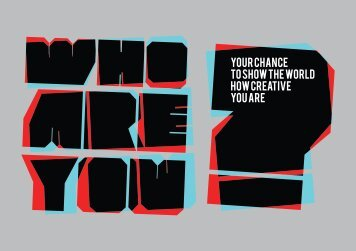 Who Are You - Student Brief.pdf - Arts University Bournemouth