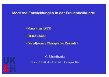 Vortrag C. Mundhenke - Brustzentrum Herzogtum Lauenburg