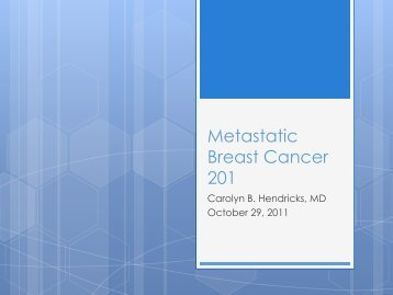 HERE - Metastatic Breast Cancer Network