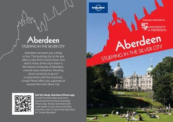 Lonely Planet Guide (PDF) - University of Aberdeen