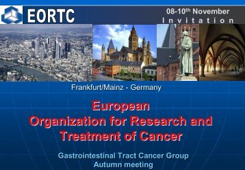 European Organization for Research and Treatment of Cancer ... - AiO