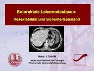 Kolorektale Lebermetastasen: - Gi-oncology.de