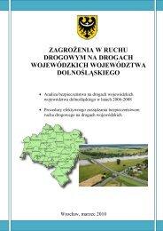 zagrożenia w ruchu drogowym na drogach wojewódzkich ...