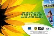 album dobre praktyki w prow 2007 - 2013 na dolnym śląsku - Urząd ...