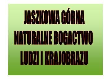 4. jaszkowa górna naturalne bogactwo ludzi i krajobrazu - Urząd ...