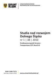 Studia nad rozwojem Dolnego Śląska - Urząd Marszałkowski ...