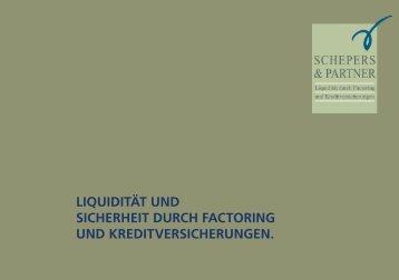 liquidität und sicherheit durch factoring und kreditversicherungen.