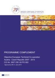 programme complement