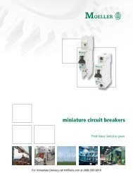 miniature circuit breakers - Klockner Moeller Parts