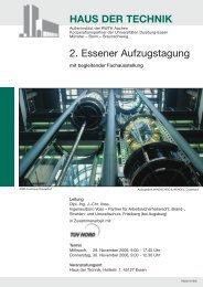 Haus_der_Technik_Beilage Lift.qxd - Ingenieurbüro Voss