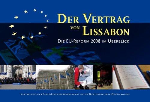 Der Vertrag Von Lissabon Die Reform Im ãœberblick Pdf 50505k