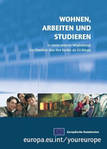 WOHNEN, ARBEITEN UND STUDIEREN - Berlin.de