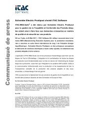 Download Press release - iTAC Software AG