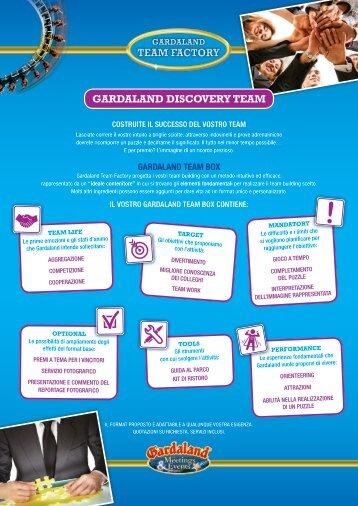 GARDALAND DISCOVERY TEAM