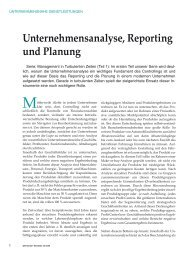 Unternehmensanalyse, Reporting und Planung - argenus GmbH