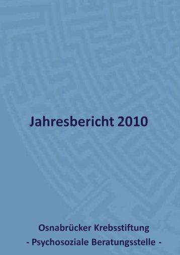 Im Adobe Acrobat Reader öffnen - Osnabrücker Krebsstiftung