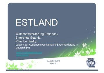 Estland - Swiss Baltic Business Experts