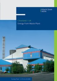 Cleveland / UK Energy-from-Waste Plant - Hitachi Zosen Inova AG