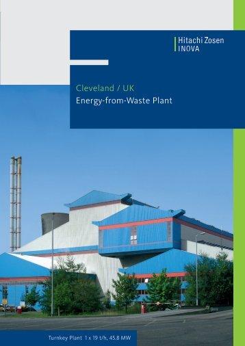 Cleveland / UK Energy-from-Waste Plant - Hitachi Zosen Inova AG