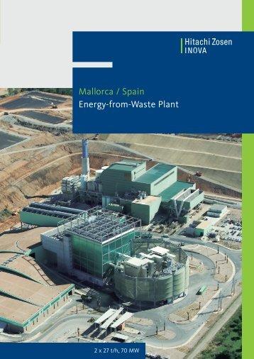 Mallorca / Spain Energy-from-Waste Plant - Hitachi Zosen Inova AG