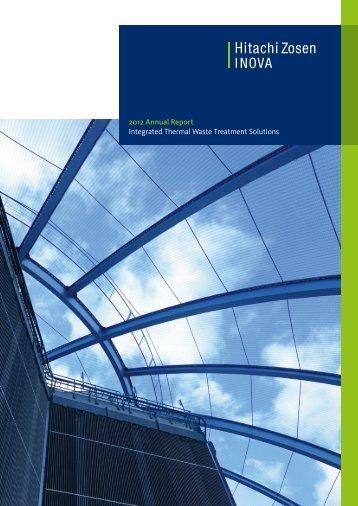 Annual Report 2012 - Hitachi Zosen Inova AG
