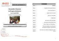 Liste des participant-es Assemblée Générale de Peuples Solidaires ...