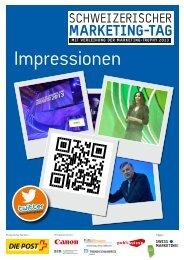 Schweizerischer Marketing Tag 2013 - SMC Biel-Seeland