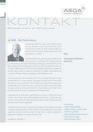 Kontakt Nr. 3 - bei Pensionskassenvergleich.ch