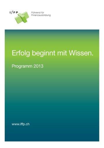 Gesamtprogramm 2013 - IfFP
