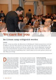 We care for you - I.l.team