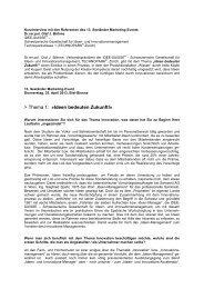 Kurzinterview Dr. Olaf Böhme - SMC Biel-Seeland