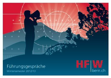 Führungsgespräche (Wintersemester 2012/2013) - hfwbern.ch