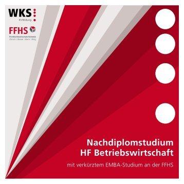 Nachdiplomstudium HF Betriebswirtschaft - KV Bildungsgruppe ...