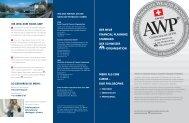 Allgemeine Information - Swiss AWP