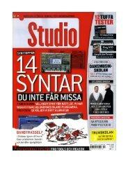 ACID Pro 7 earns Studio Score award (pdf - Sony Creative Software
