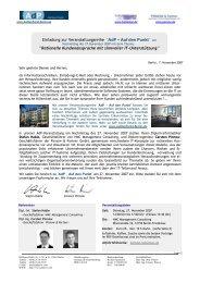 Einladung zur Veranstaltungsreihe 'AdP − Auf den Punkt ' - Pinnow ...