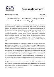 """""""Unternehmensfluktuation – Aktuelle Trends im ... - Mittelstandsmonitor"""