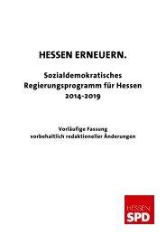 HESSEN ERNEUERN. - SPD Hessen