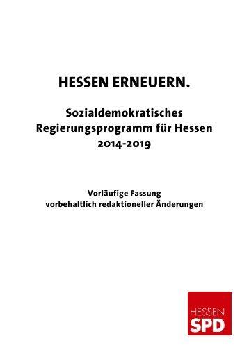 Kommunalpolitische Leitlinien Der Spd Hessen